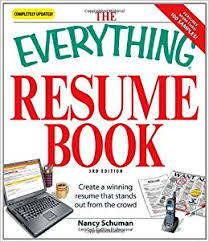 resume book the everything resume book create a winning resume that stands out