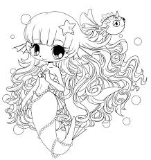 Small Picture chibi Coloring Pages chibi mermaid colouring pages Coloring