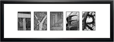 letter Framed Name Art Alphabet graphy Frames Letter Perspectives