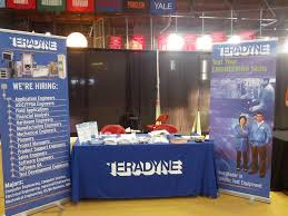 student opportunities teradyne s college recruiting fair booth