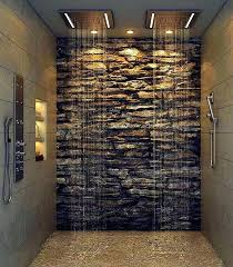 stone shower wall kits best ideas on log cabin bathrooms modern master stone shower wall