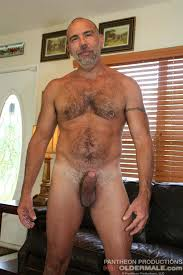 Older hairy gay cock