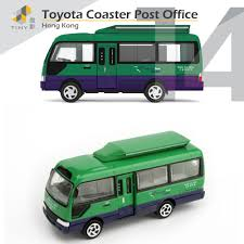 Tiny City 14 Toyota Coaster Mobile Post Office Opened Door Made In ...