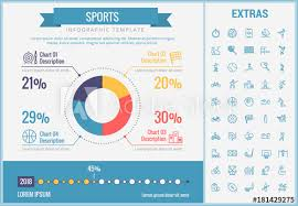 Sports Infographic Template Elements And Icons Infograph