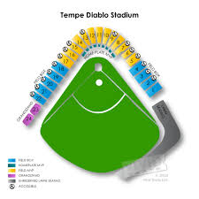 Tempe Diablo Stadium Seating Chart Angels Stadium Seating Chart Angel Stadium Of Anaheim