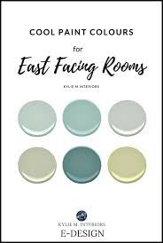 the best paint cool blue green paint colours for east facing exposure room