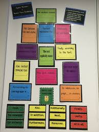 Transition Words And Phrases Citing Text Evidence Traffic Light