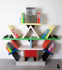 memphis design furniture. italian carlton bookcase by ettore sottsass for memphis milano design furniture