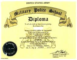 United States Army Military Police School U S Army Mp School Antiterrorism Evasive Driving Diploma