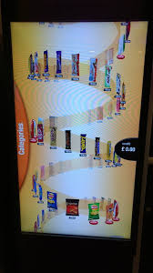 Touch Screen Vending Machines Delectable This Touchscreen Vending Machine UI Is The Absolute Worst UIDesign