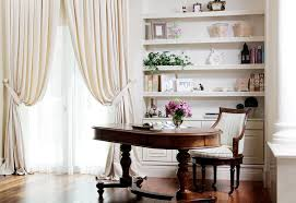 feminine home office. Feminine Home Office Pretty Decoration For Women Workers - Elegant And Classic With Wooden