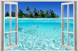 wall arts beach wall art ideas beach wall art stickers image intended for most recently