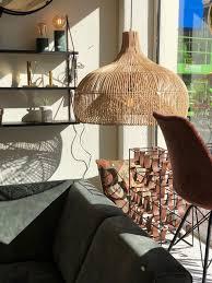 Rotan Lamp Seminyak Xl 90 Cm Skyler Store