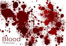 Blood Stain Patterns Awesome Design