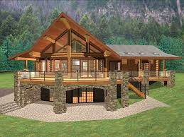mountain home plans with walkout basement best of house plans for ranch style homes with walkout basement beautiful