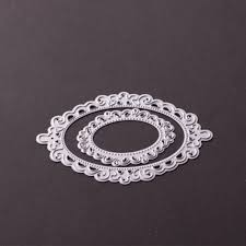 oval mirror frame. 93*65mm DIY Scrapbooking Card Die Cut Embossing Steel Oval Mirror Frame Cutting Dies Stencils Album Photo Template Metal Craft -in From Home L