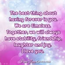 Quotes For Her Stunning 48 Sweet And Cute Love Quotes For Her For All Occasions PureLoveQuotes