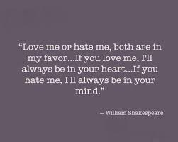 Love Me Or Hate Me Quotes Impressive Love Me Or Hate Me Both Are In My Favour Google Search
