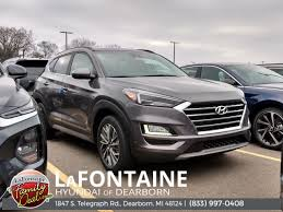 Tucson pushes the boundaries of the segment with dynamic design and outside, tucson is designed to impress while inside, you'll discover a level of roominess, comfort and versatility that exceeds all expectations. New 2021 Hyundai Tucson Ultimate 4d Sport Utility In 21h131 Lafontaine Automotive Group