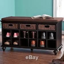 shoe storage furniture for entryway. shoe organizer home furniture entryway storage bench hallway wood shelf cubbie for