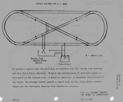 track plan wiring wiring library reverse loop wiring diagram for a c only american flyer track layouts