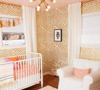 baby nursery lighting ideas. Nursery Lighting Ideas Transitional With Gold Accents Beige Rug Baby .