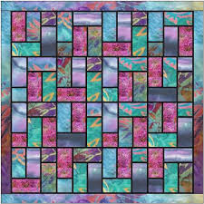 Stained Glass Quilt Pattern Inspiration Batik Stained Glass Quilt Pattern Ludlow Quilt And Sew