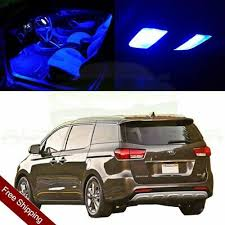 <b>13x Blue</b> Interior LED Lights Package Kit for 2007-2012 Sedona Van