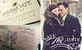 Winter Wedding Save The Date Winter Wedding Save The Dates Solomon Events