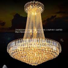 crystal pendant light led chandeliers 91061 used for hotel villa