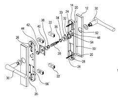door latch mechanism diagram literarywondrous door handle parts photo ideas kwikset diagram for