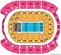 Maple Leafs Seating Chart Air Canada Centre Seating Chart Online Tickets Toronto