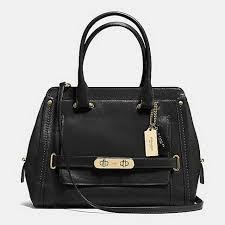2017 Authentic Coach Black Hobos Handbags