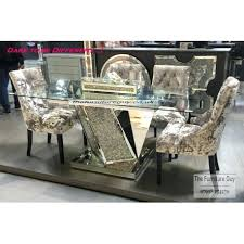 dare furniture dining tables sparkle dining table large cm furniture village round dining tables