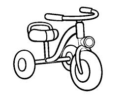 Disegno Di Un Triciclo Per Bambini Da Colorare Acolorecom