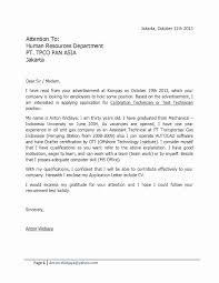 Resume Cover Letter Samples For Fresh Graduates New Sample Resume