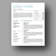 Resume Templates Microsoft Word 2013 Extraordinary Resume Design Modern Resume Template Two Page Cover Letter