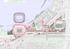 Stadium Planning Design Gallery Of Oma Reveals New Feyenoord Stadium Design In