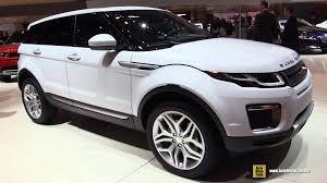 land rover interior 2015. 2016 land rover evoque hse si4 exterior and interior walkaround 2015 geneva motor show youtube