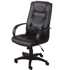 leather home office chair. Black Adjustable Height Office Chair Leather Home