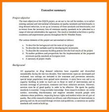 executive summary format for project report 10 project executive summary park attendant