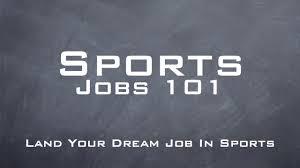 sports job webinar sports networkersports networker sports jobs 101