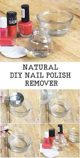 diy nail polish remover using vinegar