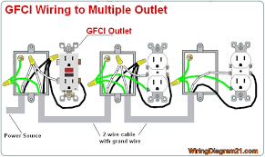 outlet wiring color diagram wiring diagram schematics gfci outlet wiring diagram wiring diagrams
