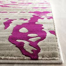rug porcello area rugs safavieh also purple and gray pink grey pulliamdeffenbaugh for girls room red