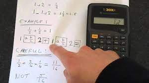 ti 30xa fractions you