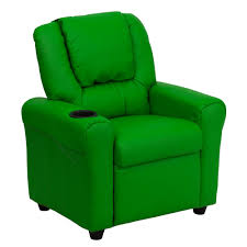 recliner chairs for kids.  For Flash Furniture Contemporary Green Vinyl Kids Recliner With Cup Holder And  Headrest With Chairs For N