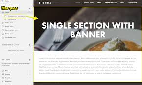 Marquee Website Design Marquee Template Kalde Bwong Co
