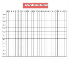 Employees Attendance Sheet Template Staff Attendance Register Attendance Tracker Free Employee
