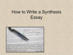 Explanatory Synthesis Essay Help Writing A Synthesis Essay Homework Helps